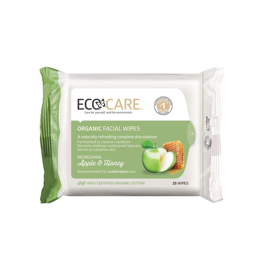 Apple and Honey Organic Facial Wipes