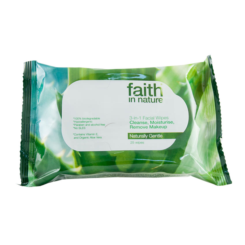 3 in 1 Facial Wipes