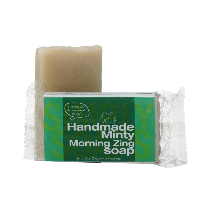 Minty Morning Zing Soap