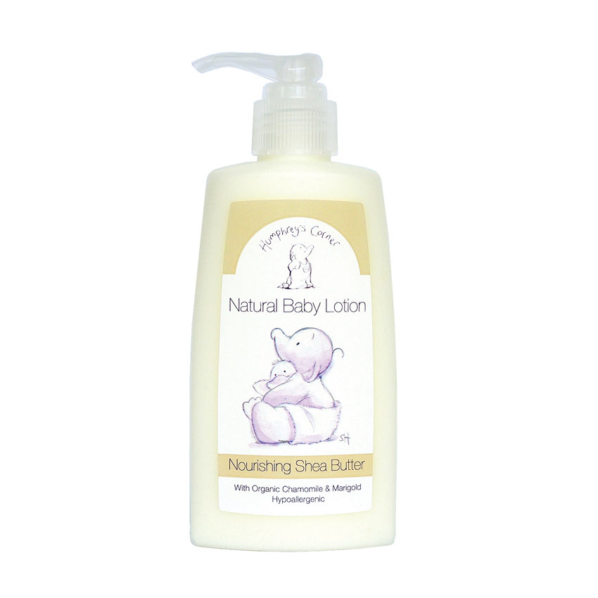 Natural Baby Lotion (Nourishing Shea Butter)