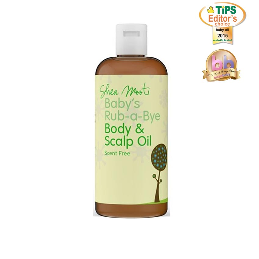 Baby 's Rub-a-Bye Body & Scalp Oil  (Unscented)
