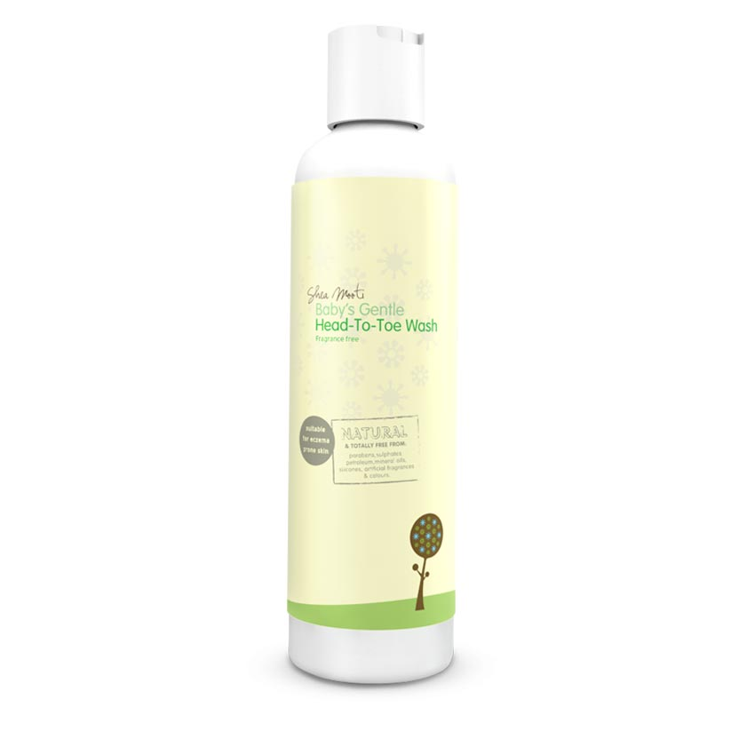 Baby ' s Gentle Head- To -Toe Wash  (Unfragranced)