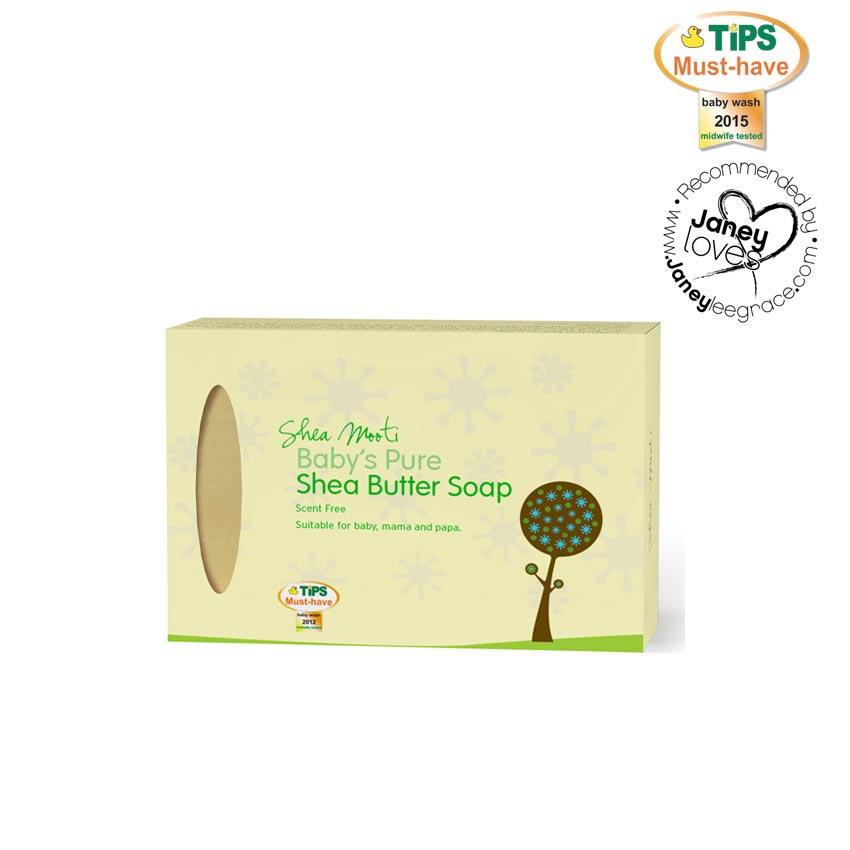 Baby's Pure Shea Butter Soap (Unscented)