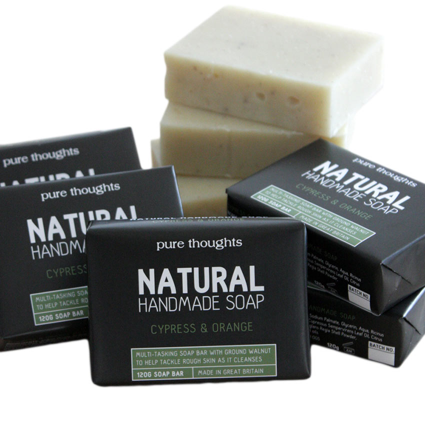 Cypress and Orange Men's Soap