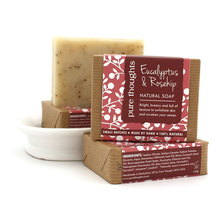 Eucalyptus and Rosehip Soap