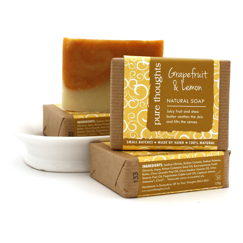 Grapefruit and Lemon Soap