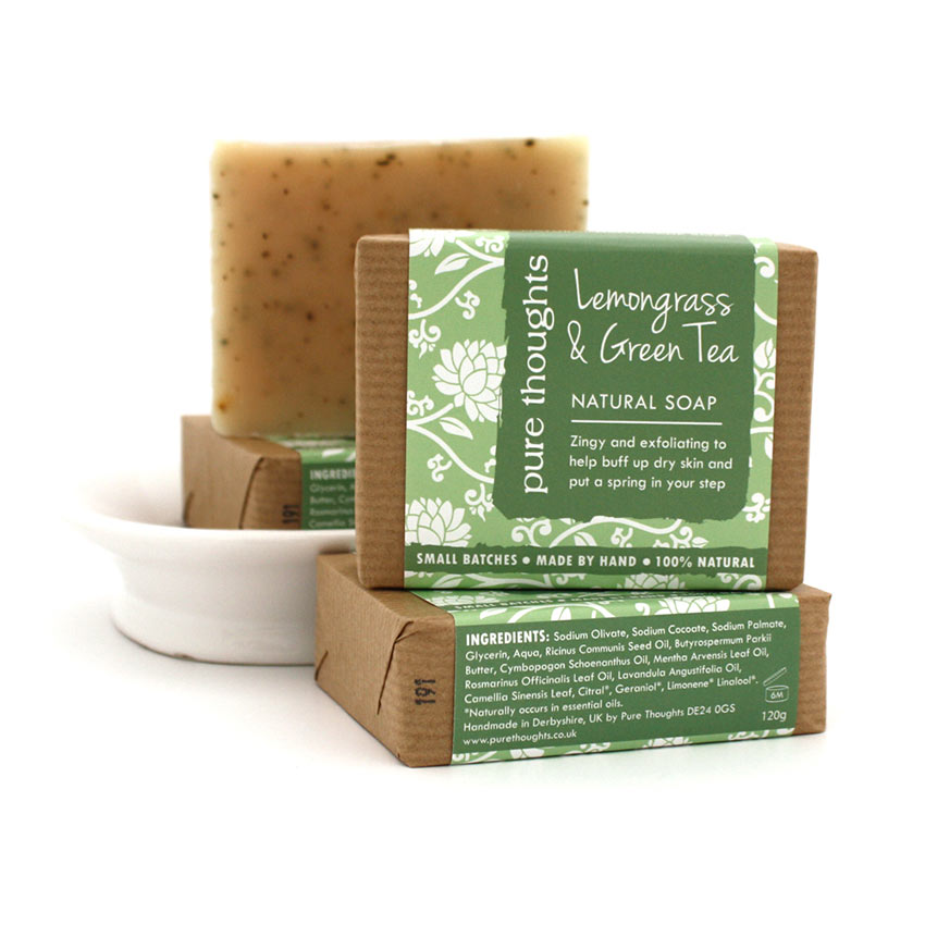 Lemongrass and Green Tea Soap