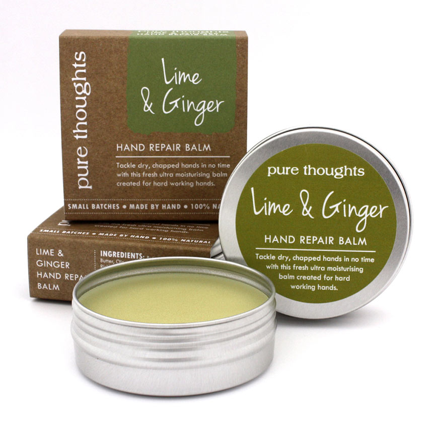 Lime and Ginger Hand Repair Balm