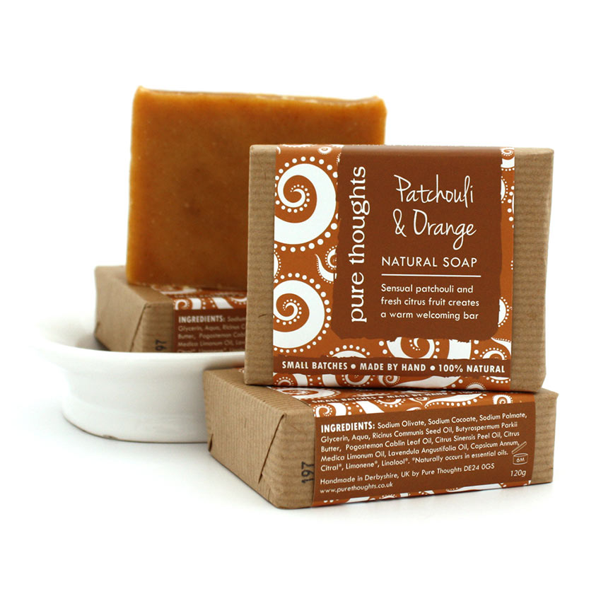 Patchouli and Orange Soap