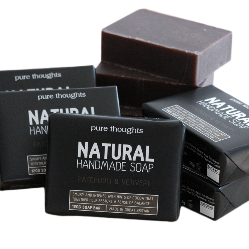 Patchouli and Vetivert Men's Soap