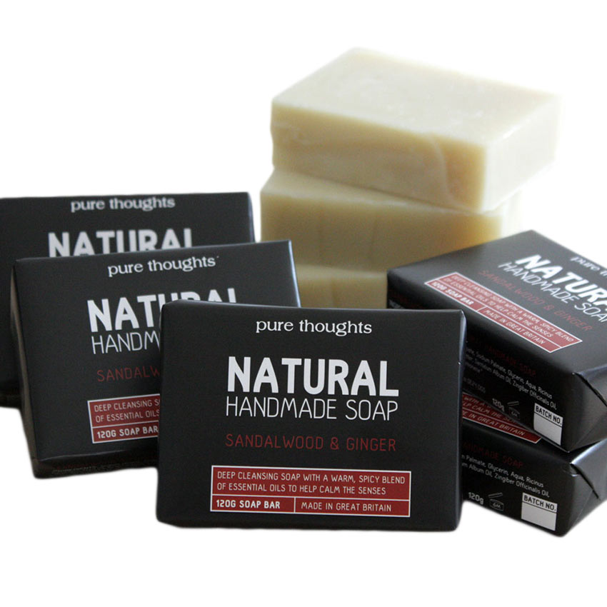 Sandalwood and Ginger Men's Soap