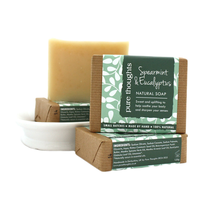 Spearmint and Eucalyptus Soap