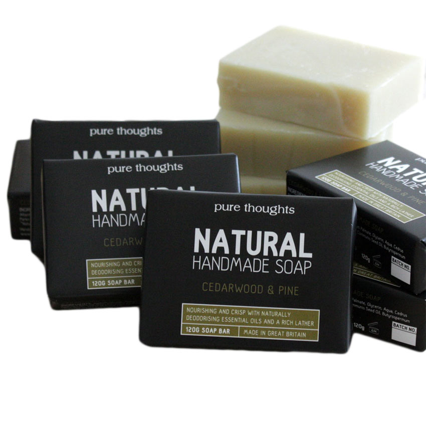 Cedarwood and Pine Men's Soap