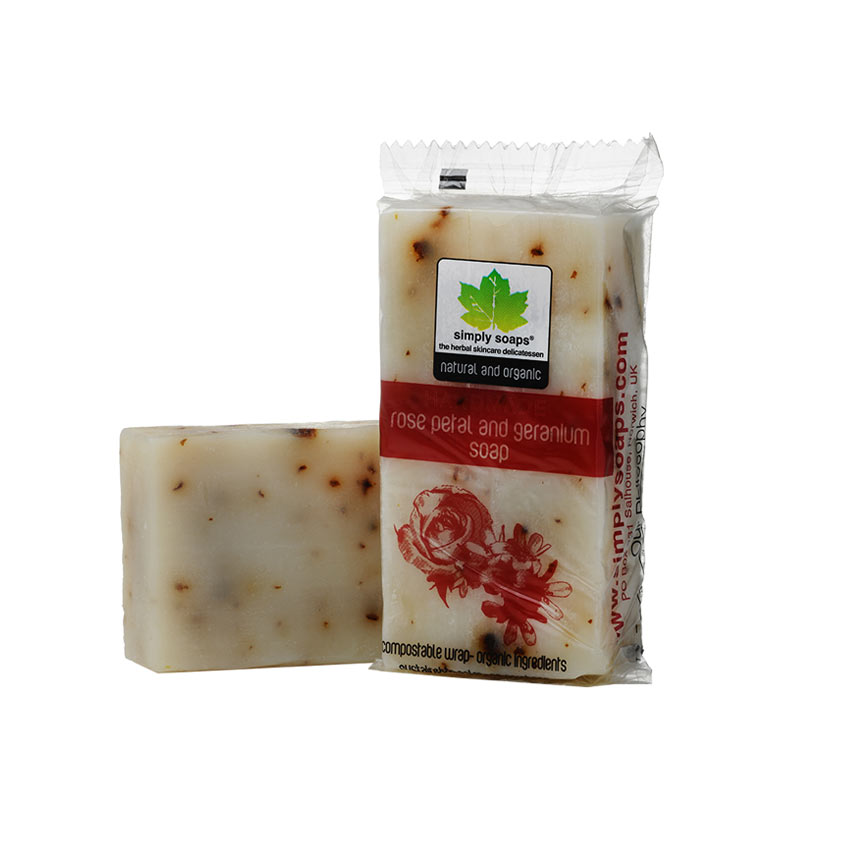 Rose Petal and Geranium Soap