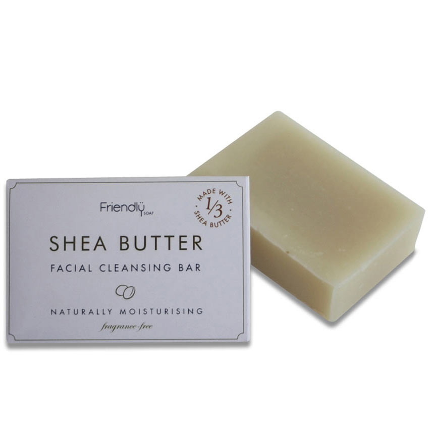 Shea Butter Facial Cleansing Bar soap